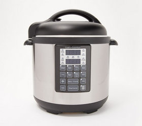 """""""As Is"""" Cook's Essentials 6-qt Stainless Steel Pre"""