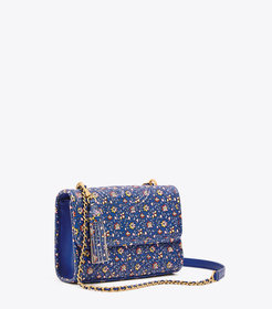 Tory Burch FLEMING PRINTED SMALL CONVERTIBLE SHOUL