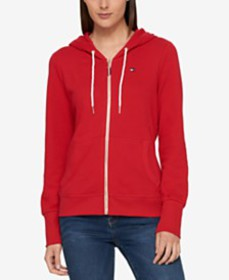 Tommy Hilfiger French Terry Hoodie, Created for Ma