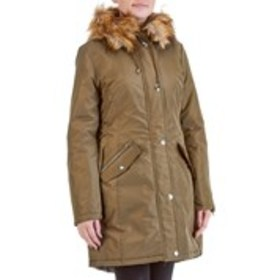 XOXO Juniors Hooded Parka with Lace Up Sides