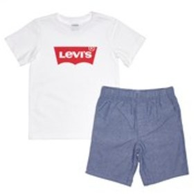 LEVI'S Boys Logo T-Shirt & Pull-On Shorts Set (4-7