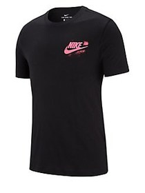 Nike Sportswear Graphic Cotton Tee BLACK