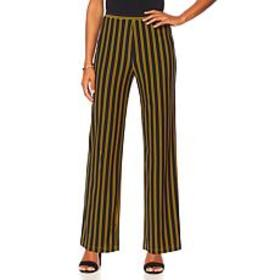 "Antthony ""Timeless Textures"" Printed Pull-On Pant"