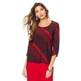 "Antthony ""Timeless Textures"" 2-pack 3/4-Sleeve Top"
