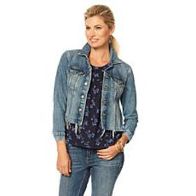 Lucky Brand Tomboy Trucker Jacket in Alamere Falls
