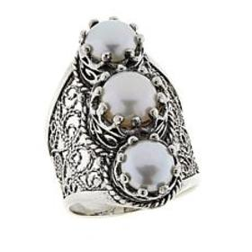 Ottoman Silver Jewelry Cultured Freshwater Pearl 3