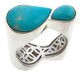 Jay King 2-Stone Turquoise Hill Turquoise Sterling