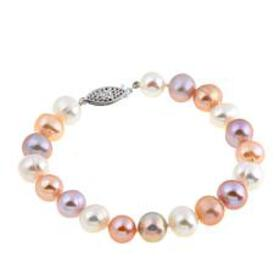 Imperial Pearls 8.3-9.3mm Multicolor Cultured Pear