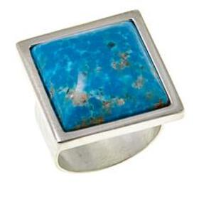 Jay King Square Sonoran Turquoise Sterling Silver