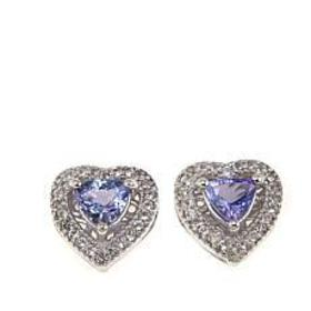 Colleen Lopez 1.18ctw Tanzanite and White Topaz He