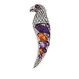 Nicky Butler Purple Turquoise and Multigem Eagle C