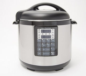 """As Is"" Cook's Essentials 8-qt Stainless Steel Pre"