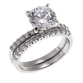 2.33ctw Absolute™ Round Solitaire with Pavé Sides