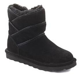 BEARPAW® Angela Suede Sheepskin Boot with NeverWet