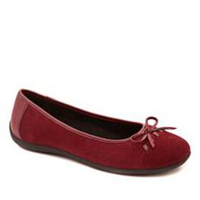 Sporto® Denise Suede Water-Resistant Ballet Flat