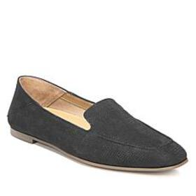 Franco Sarto Gracie Embossed Leather Slip-On Loafe