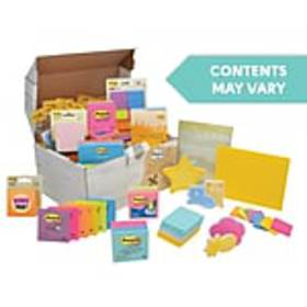 Post-it® Treasure Chest, Assorted Sizes and Colors