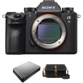 Sony Alpha a9 Mirrorless Digital Camera with Exter