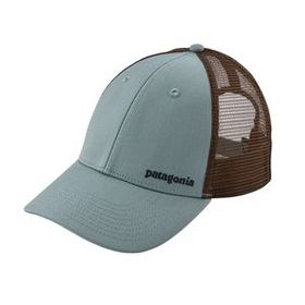 Small Text Logo LoPro Trucker Hat, Cadet Blue (CAD