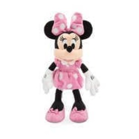 Disney Minnie Mouse Plush - Pink - Small - 14'' -