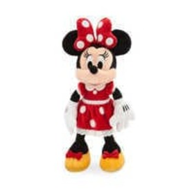 Disney Minnie Mouse Plush - Red - Small - 14'' - P