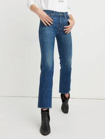 Lucky Brand Mid Rise Authentic Straight Crop