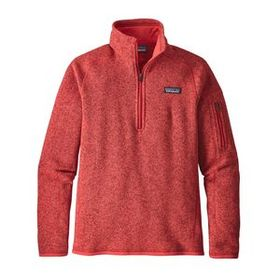 W's Better Sweater® 1/4-Zip, Tomato (TMT)