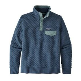 W's Organic Cotton Quilt Snap-T® Pullover, Stone B
