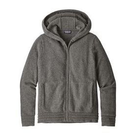 W's Recycled Cashmere Hoody, Feather Grey (FEA)