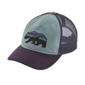 W's Fitz Roy Bear Layback Trucker Hat, Cadet Blue