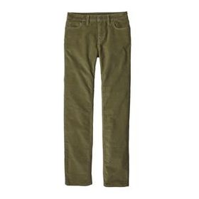W's Corduroy Pants - Short, Fatigue Green (FTGN)