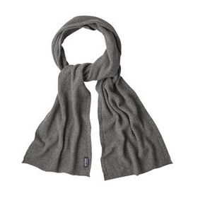 W's Recycled Cashmere Pointelle Scarf, Feather Gre