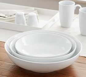 Pottery Barn Great White Coupe Serving Bowls