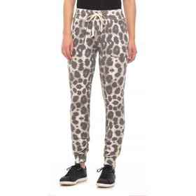Playground Printed Jogger Pants (For Women) in Oli