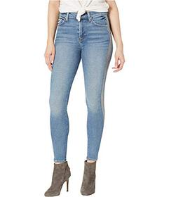 7 For All Mankind The High-Waisted Ankle Skinny wi