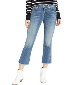 7 For All Mankind Cropped Boot in Authentic Medium