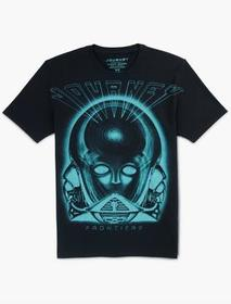 Lucky Brand Journey Frontiers Exploded Tee