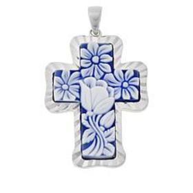 Michael Anthony Jewelry® Raised Relief Floral Resi