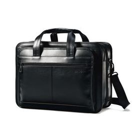 Samsonite Samsonite Leather Expandable Business Ca