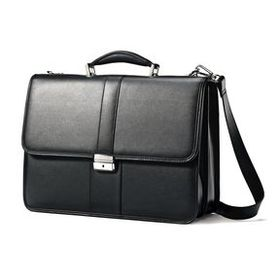 Samsonite Samsonite Leather Flapover Case