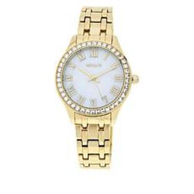Absolute™ Women's Clear Cubic Zirconia Bezel Brace