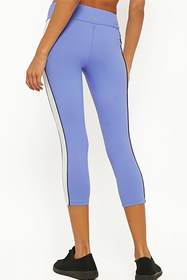 Forever21 Active Contrast Capri Leggings