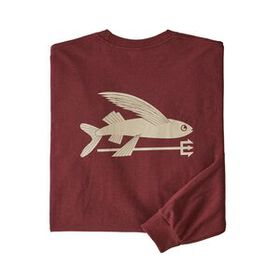 M's Long-Sleeved Flying Fish Responsibili-Tee®, Ca