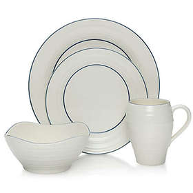 Mikasa® Swirl Banded Dinnerware Collection in Blue