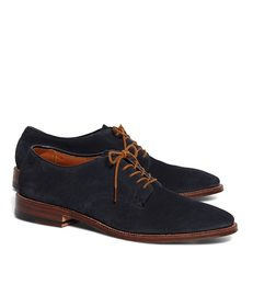 Brooks Brothers Suede Bluchers