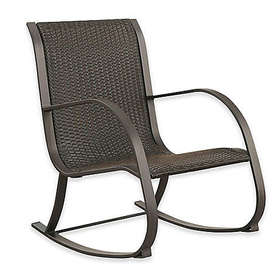 Abbyson Living® Gabriela Outdoor Wicker Rocking Ch