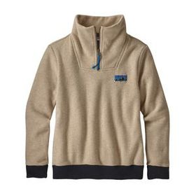 W's Woolie Fleece Pullover, Oatmeal Heather (OAT)