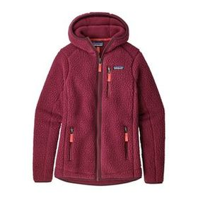 W's Retro Pile Hoody, Arrow Red (ARWD)