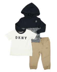 DKNY Jeans big apple 3pc set (infant)