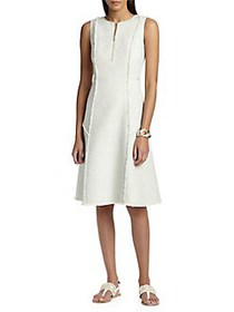 Lafayette 148 New York Adrian Tweed A-Line Dress I